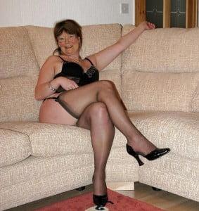 vieille salope lingerie