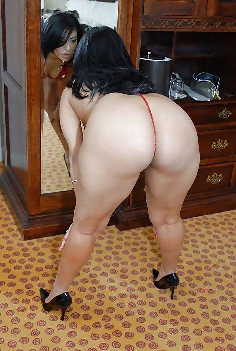 fesse de femme ronde